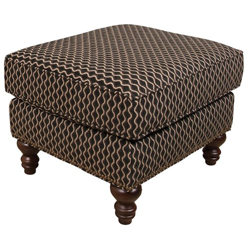 England Telisa  Living Room Ottoman with Classic Style