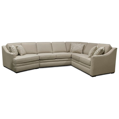 England Thomas Sectional Sofa with Five Seats