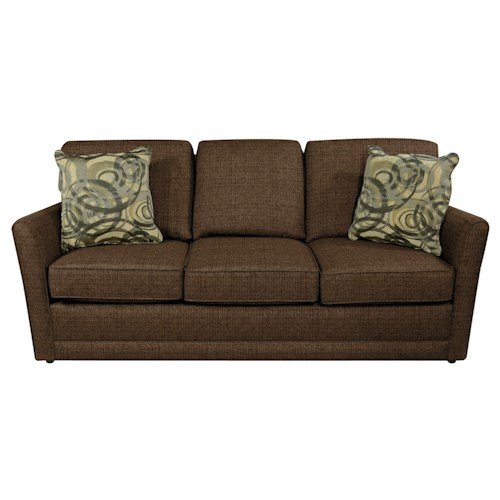 England Tripp Simple Sofa with Tapered Arms
