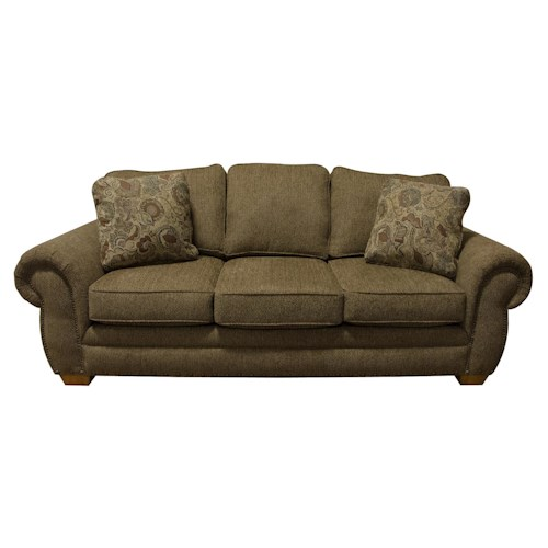 England Walters Sofa Sleeper with Nailhead Trim