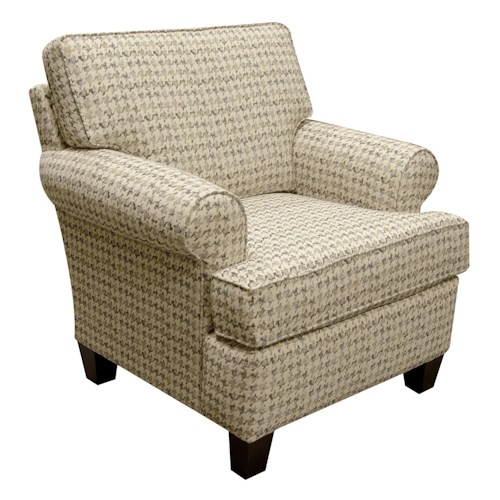 England Weaver Chair with Casual Style