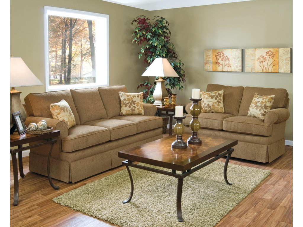 Shown with Coordinating Collection Sofa. Sofa Shown May Not Represent Exact Features Indicated.