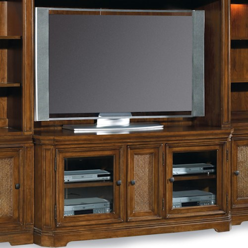 Hooker Furniture Windward 54-Inch Three-Door Entertainment Console