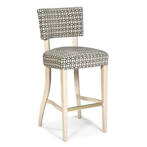 Fairfield Barstools Contemporary Upholstered Barstool