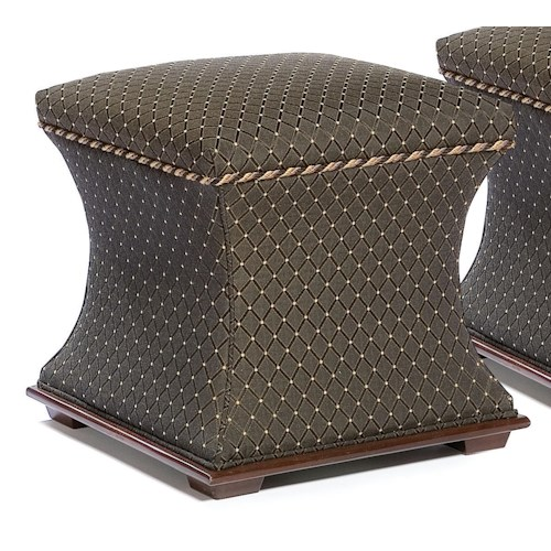 Fairfield Ottomans Contemporary Bunching Ottoman