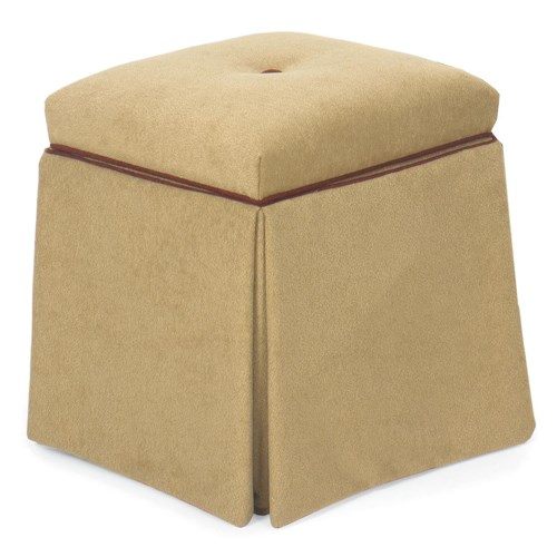 Fairfield Ottomans Storage Ottoman with Skirt