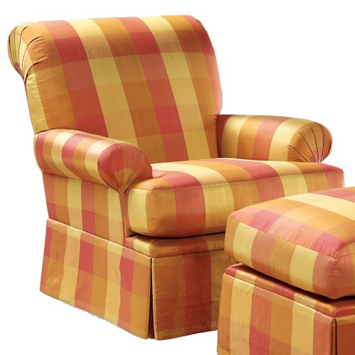 Fairfield Chairs Rolled Back  Swivel Chair