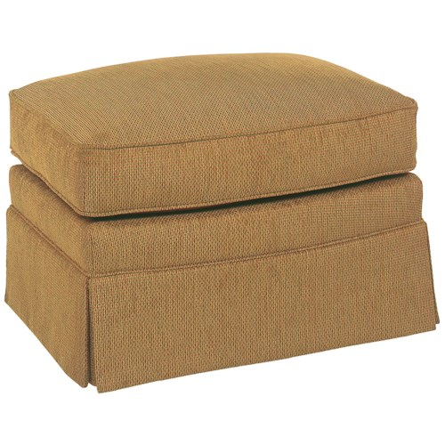 Fairfield Chairs Modest Skirted Ottoman