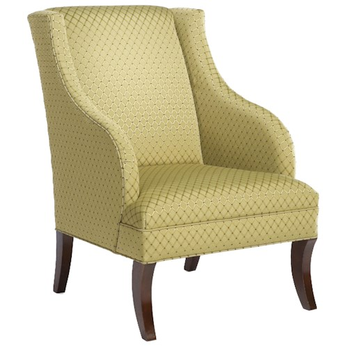 Fairfield Chairs Swooping Wing Lounge Chair