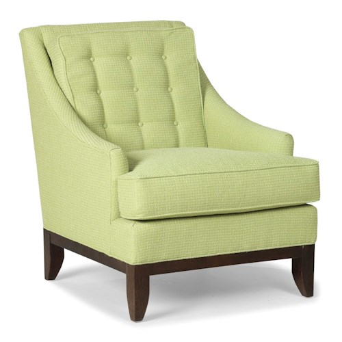 Fairfield Chairs Upholstered Accent Chair with Button Tufting