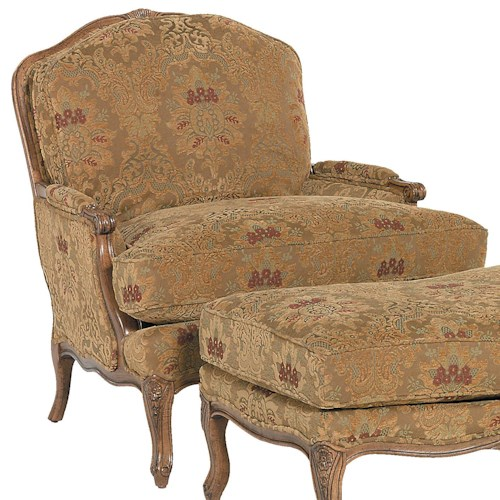 Fairfield Chairs Traditionally Styled Lounge Chair