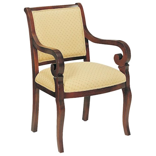 Fairfield Chairs Unadorned Upholstered Accent Chair