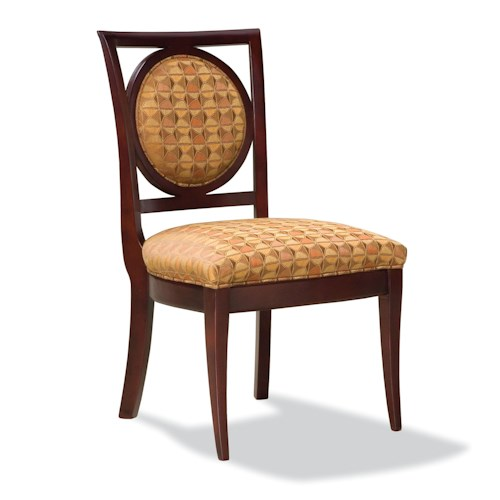 Fairfield Chairs Exposed Wood Armless Side Chair