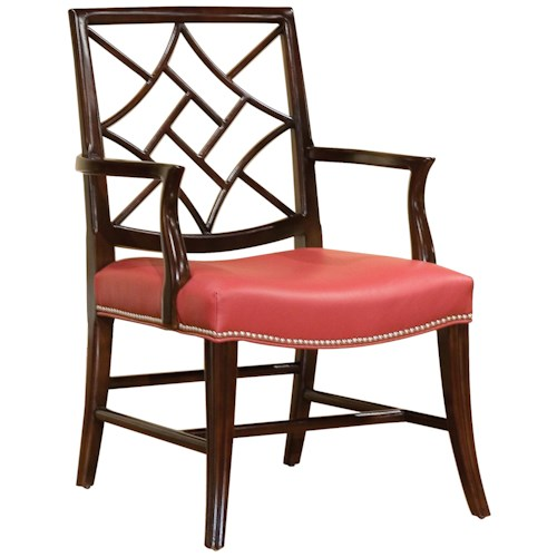Fairfield Chairs Occasional Chair with Elegant Back Cut-Out