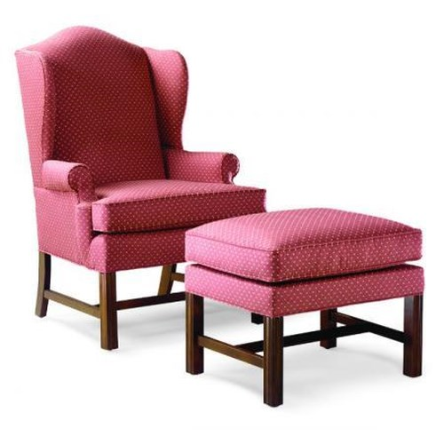Fairfield Chairs Upholstered Wing Chair & Ottoman