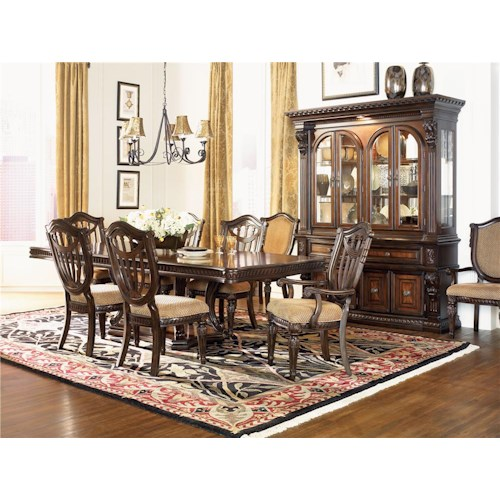 Morris Home Furnishings Grand Rapids 5pc Dining Room