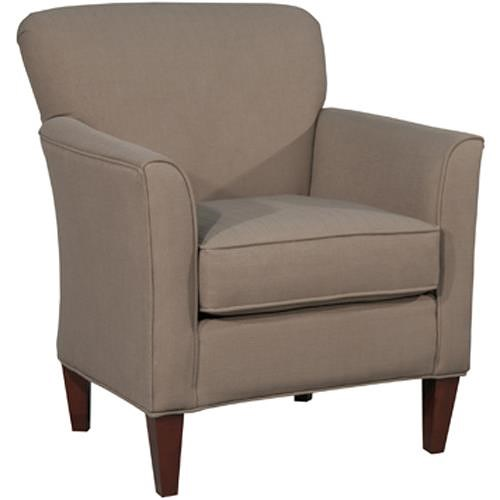Fairmont Designs Accent Chairs Contemporary Accent Chair with Tapered Arrow Feet