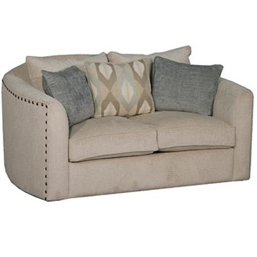 Fairmont Designs Bardot Traditional Love Seat with Nail Head Trim