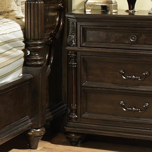 Fairmont Designs Chateau Marmont Night Stand w/ 3 Drawers