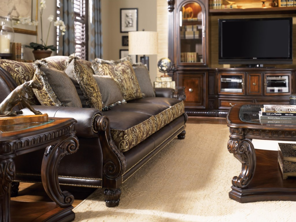 Shown in Room Setting with End Table