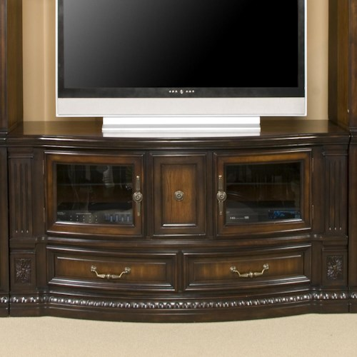 Morris Home Furnishings Grand Rapids Entertainment TV Stand Console