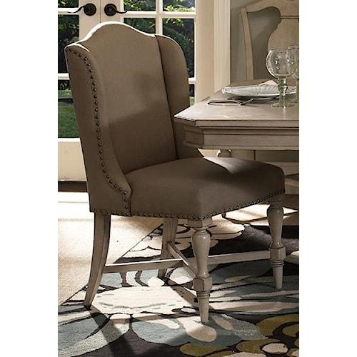 Morris Home Furnishings Rushmore Host/Hostess Chair