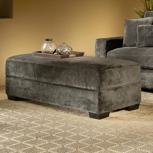 Fairmont Designs Billie Jean Upholstered Storage Ottoman w/ Lift Top
