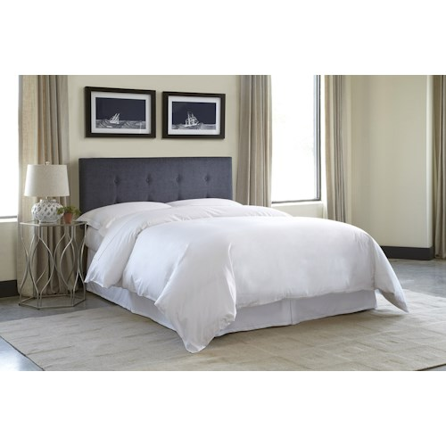 Morris Home Furnishings Baden Full/Queen Upholstered Headboard