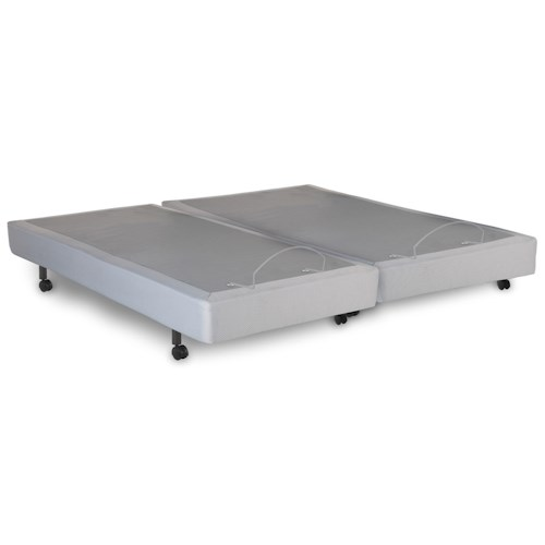 Morris Home Furnishings Bedding Support Signature Split Cal King Adjustable Bed Base with Ultra-Quiet Motor and Wireless Remote