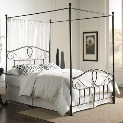 Morris Home Furnishings Canopy Beds California King Sylvania Canopy Bed