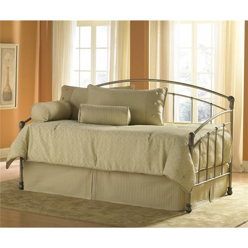Morris Home Furnishings Daybeds Tuxedo Daybed w/ Linkspring
