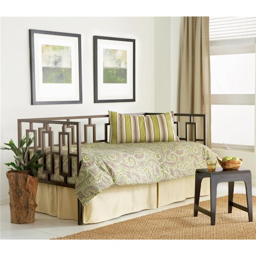 Morris Home Furnishings Daybeds Miami Daybed w/ Linkspring