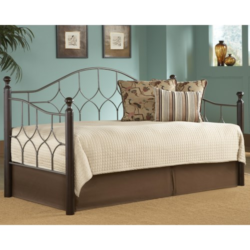 Fashion Bed Group Daybeds Bianca Daybed w/ Linkspring