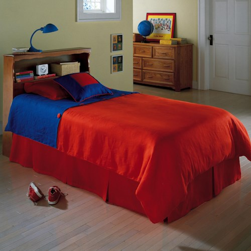Fashion Bed Group Fashion Kids Full Barrister I Headboard