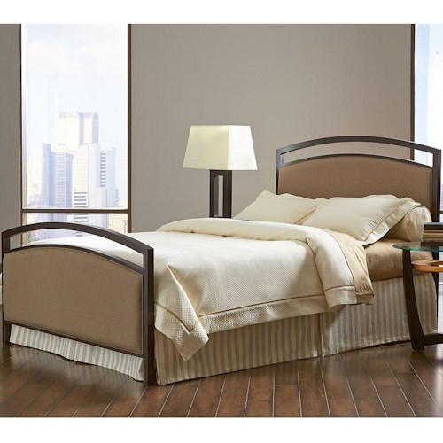 Morris Home Furnishings Gibson Queen Bed with Arched Headboard