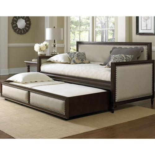 Fashion Bed Group Grandover Daybed with Nail Head Trim