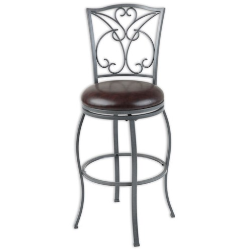 Fashion Bed Group Metal Barstools Traditional Columbia Metal Barstool