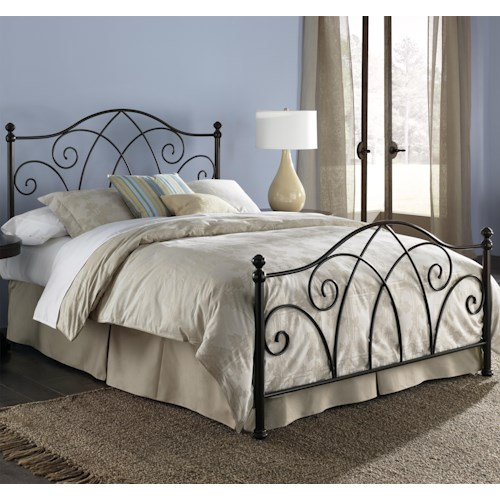 Fashion Bed Group Metal Beds Full Deland Bed w/ Frame