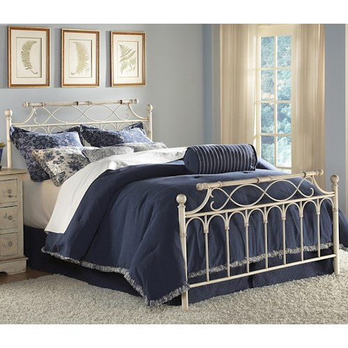 Morris Home Furnishings Metal Beds King Chester Bed w/ Frame