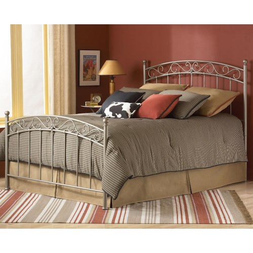 Morris Home Furnishings Metal Beds King Ellsworth Metal Bed