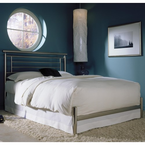 Morris Home Furnishings Metal Beds Queen Chatham Bed w/ Frame