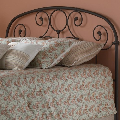 Morris Home Furnishings Metal Beds Queen Grafton Headboard