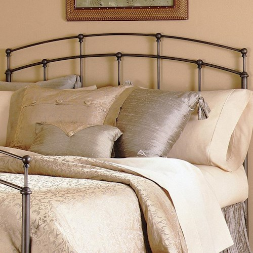 Fashion Bed Group Metal Beds King/California King Fenton Duo Panel Headboard or Footboard