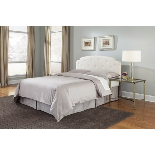 Morris Home Furnishings Montreux King/California King Upholstered Headboard