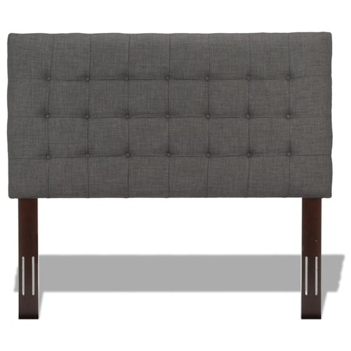 Morris Home Furnishings Strasbourg Twin Upholstered Headboard