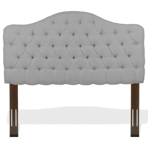 Morris Home Furnishings Upholstered Headboards and Beds King/Cal King Transitional Martinique Headboard
