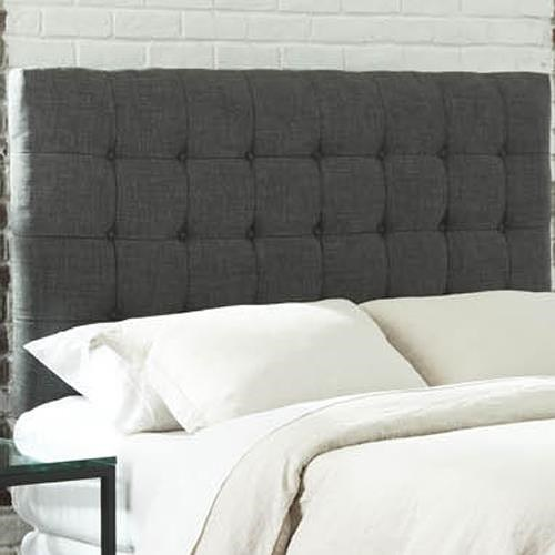 Fashion Bed Group Upholstered Headboards and Beds California King Strasbourg Upholstered Headboard with Button Tufting