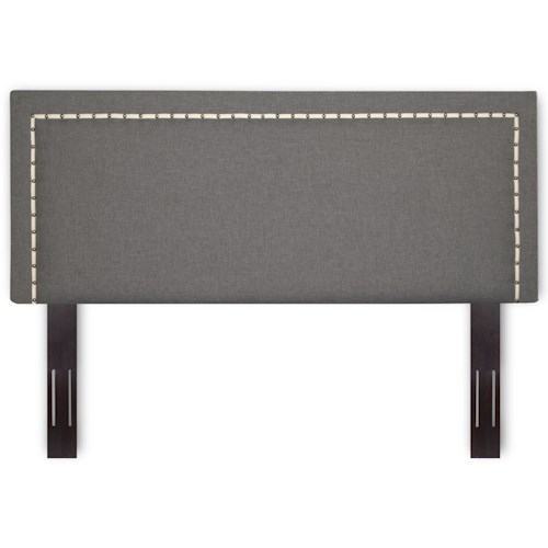 Morris Home Furnishings Upholstered Headboards and Beds King / Cal King Wood and Fabric Headboard