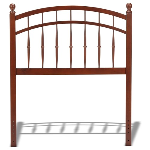 Fashion Bed Group Wood Beds Twin  Wood Headboard