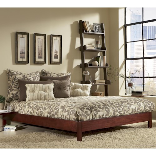 Morris Home Furnishings Wood Beds Queen Murray Platform Bed
